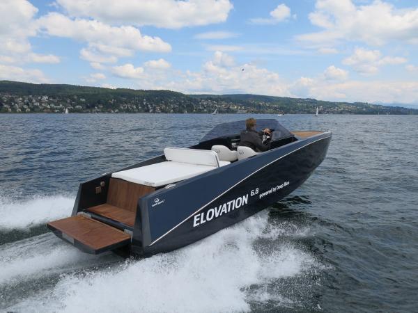 Immer mehr Sportboote werden auch mit Elektromotoren angeboten