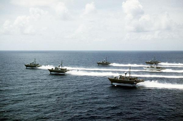 Die Pegasus-Klasse der US Navy erreichte 48 Knoten