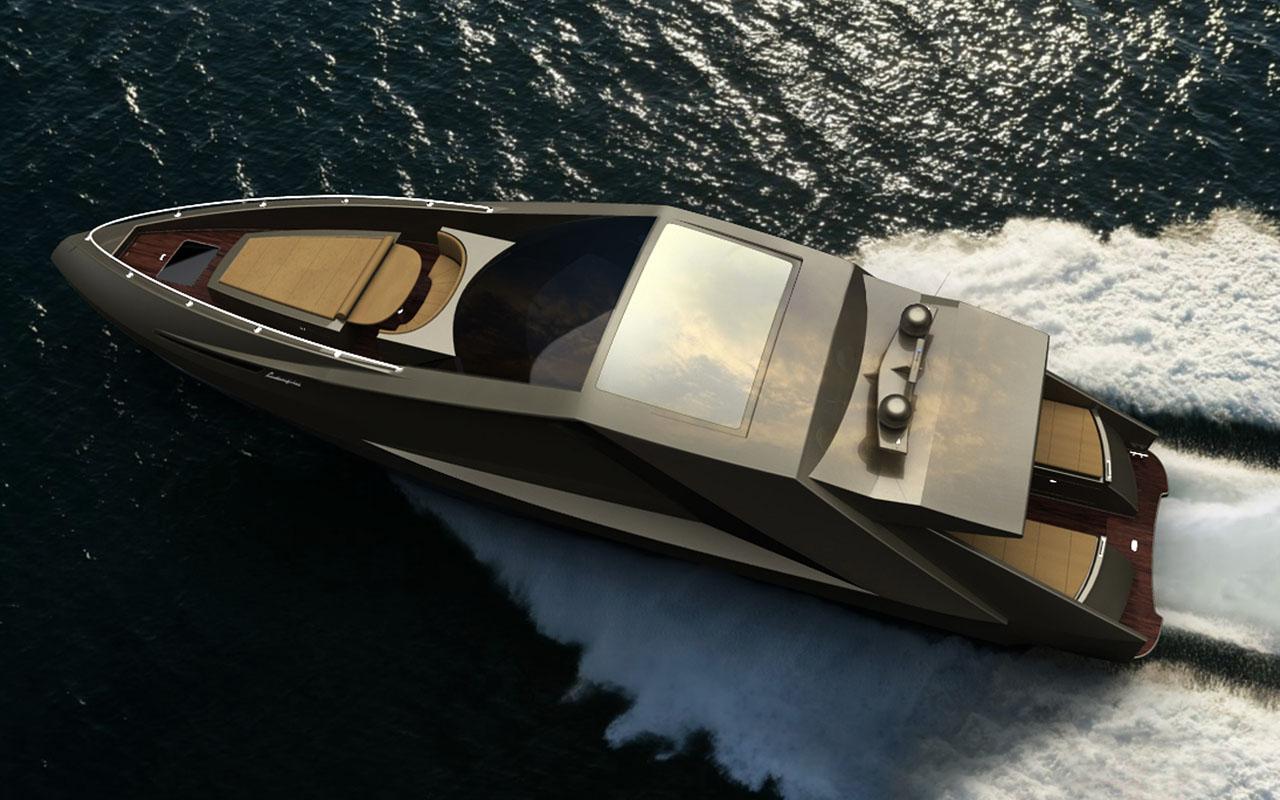 The Lamborghini Yacht