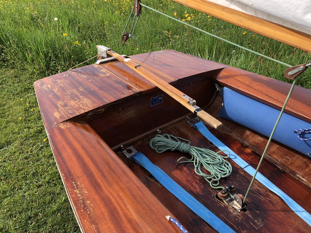 Holzboote sind hübsch anzuschauen, aber sehr pflegeintensiv