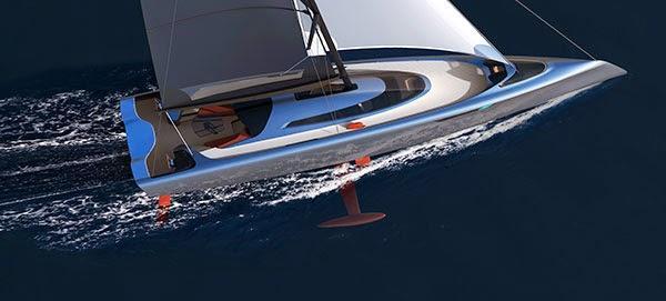 Vielleicht wird es ja auch mal was mit der Porsche Segelyacht Speedream?