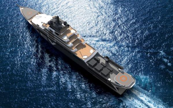 Mit Hubschrauber, U-Boot, eigenen Laboren und Platz für internationale Wissenschaftler-Teams