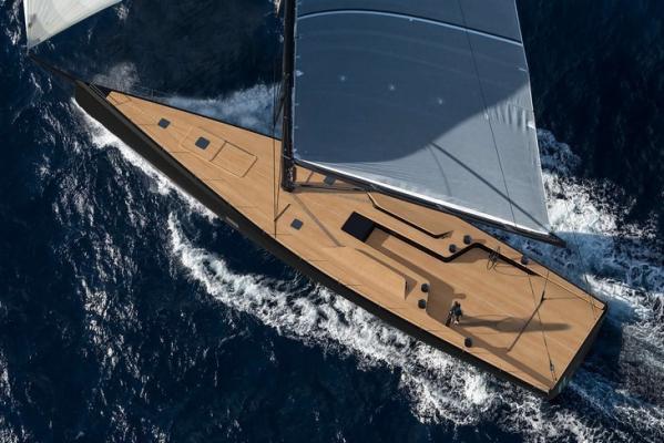 Die Wally 93, eine Fahrten-Performance-Yacht aus dem Hause Wally