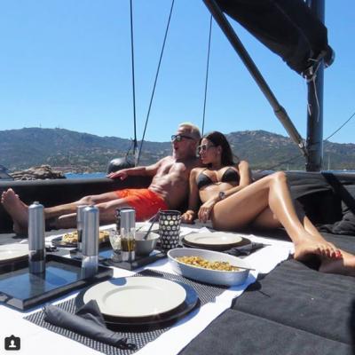 Das Boot ist eine segelnde Couch