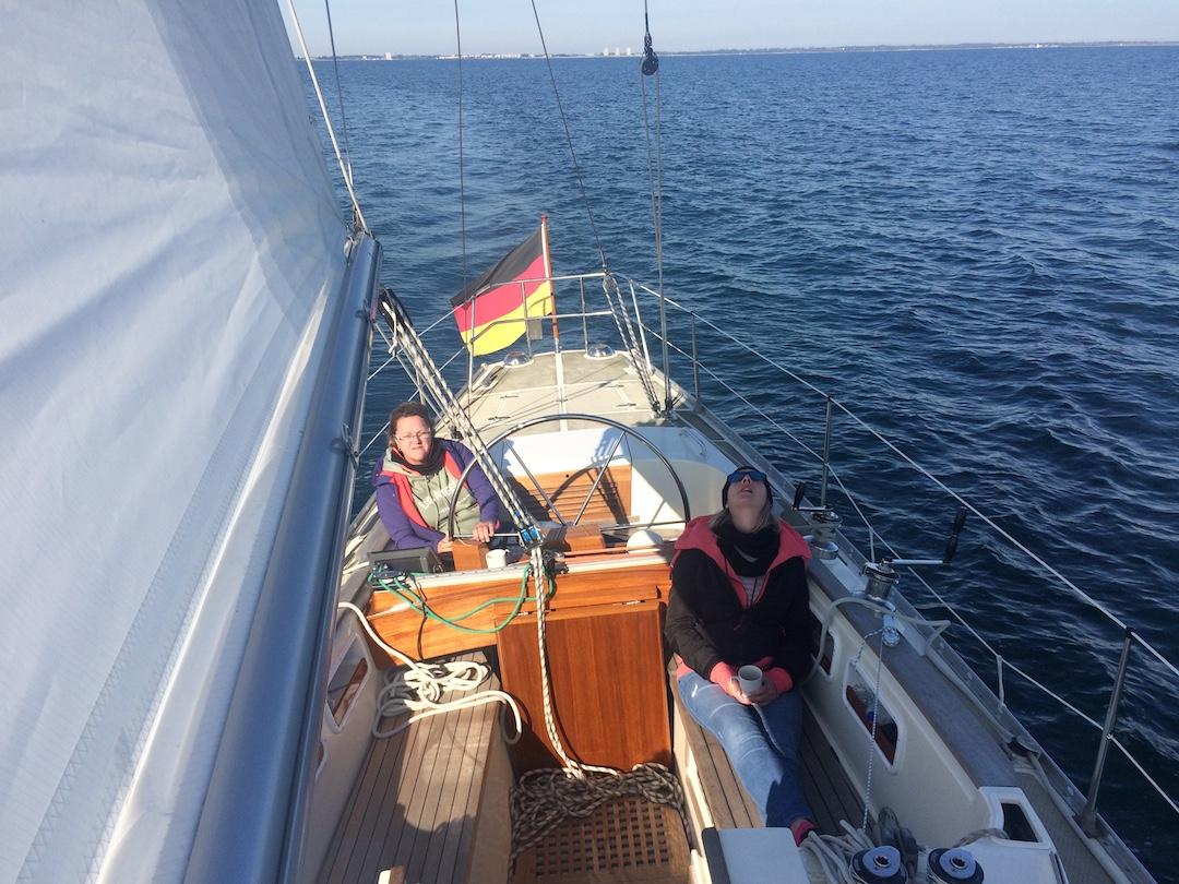 Schöne Segelstunden auf der Ostsee