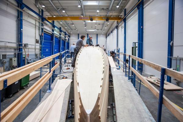 Formenbau für die nächste Swan in Finnland