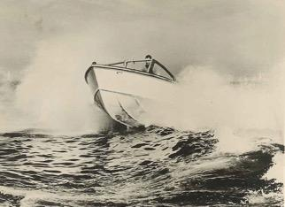 Ray Hunts 7m Motorboot 1958