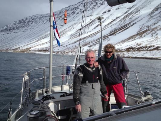 Isafjordur April 13 –Gerard und Loon Dykstra