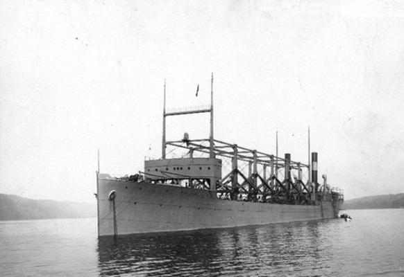 [USS Cyclops ging mit 306 Männern Besatzung im Bermuda Dreieck verloren