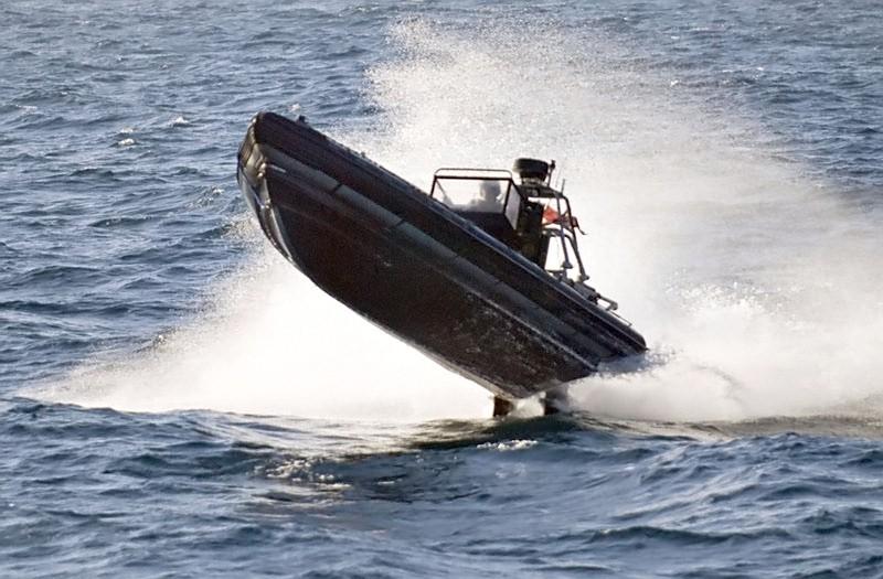 Kann eine Menge ab: RIB der dänischen Marine im Einsatz