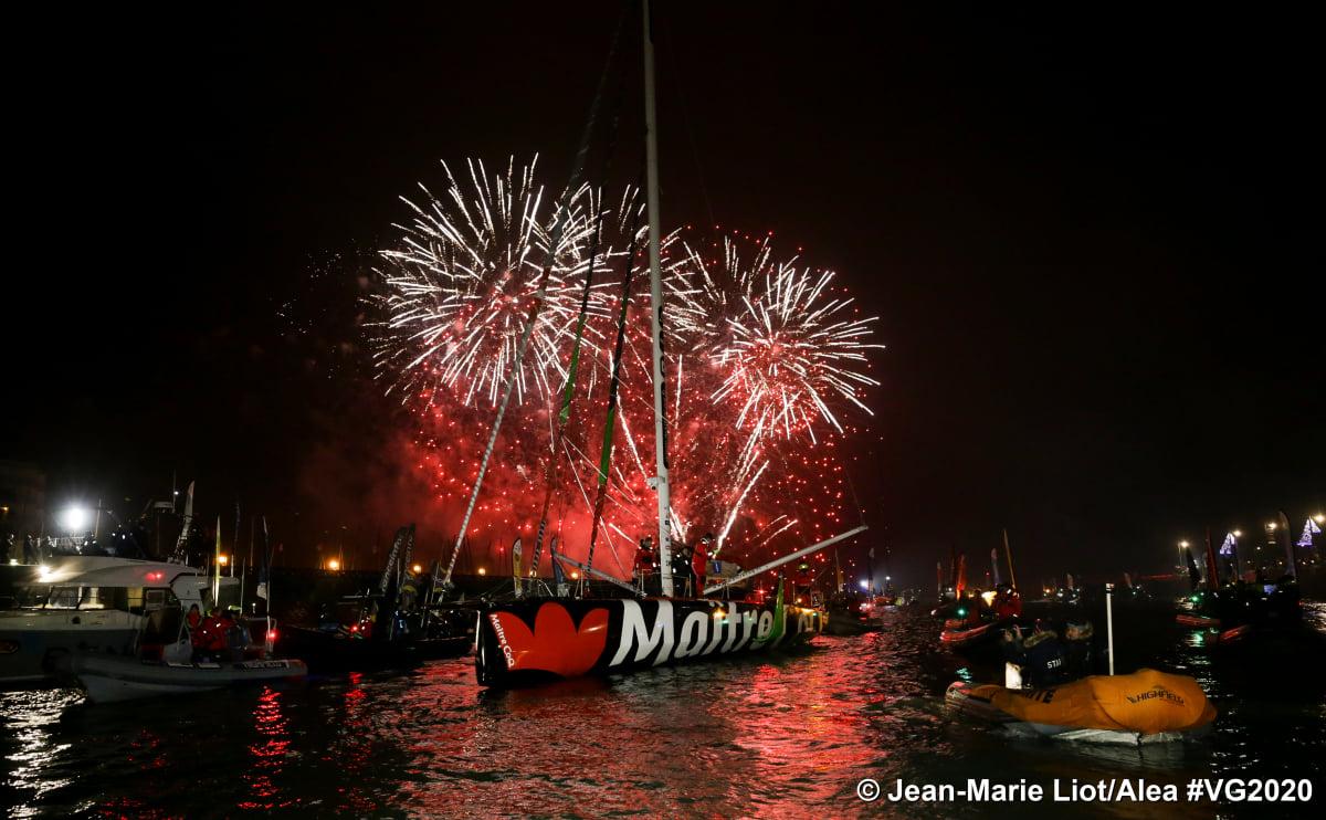 Es gab viele Gründe zum Feiern © Vendée Globe/Liot, Alea