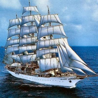 Die 109,53m lange «Sea Cloud» entstand 1931 in Kiel als Privatyacht