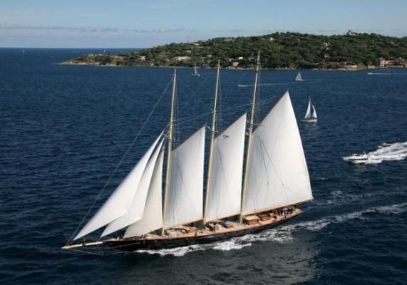 Die Replik der 69,24m langen «Atlantic» segelt seit 2010