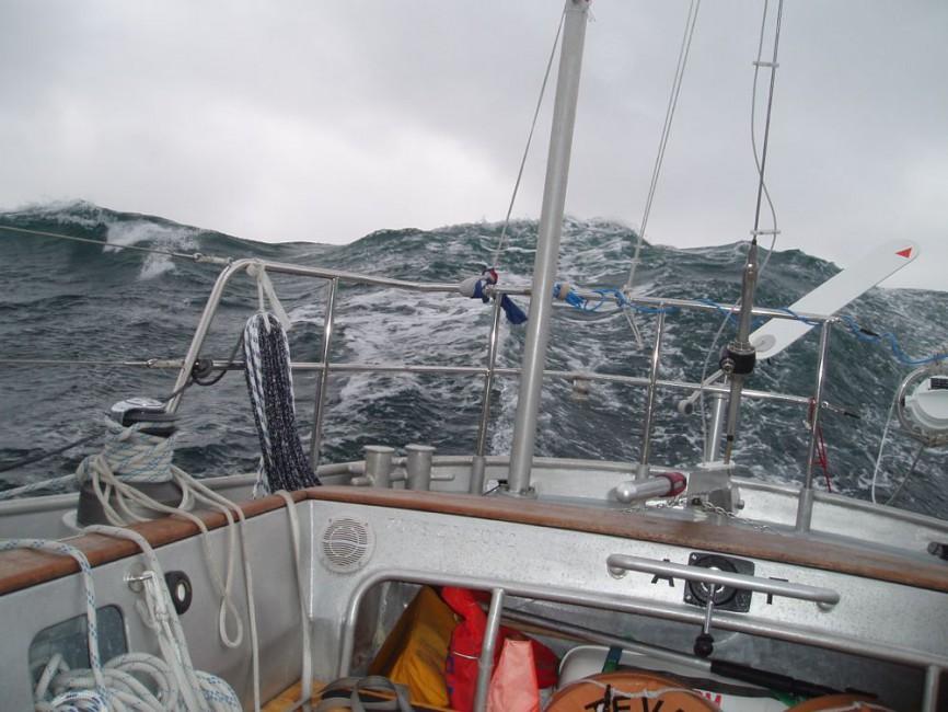 Wer sein Boot nutzen statt reparieren will setzt auf bewährte Hardware: «Bestevaer2» in der Nordsee