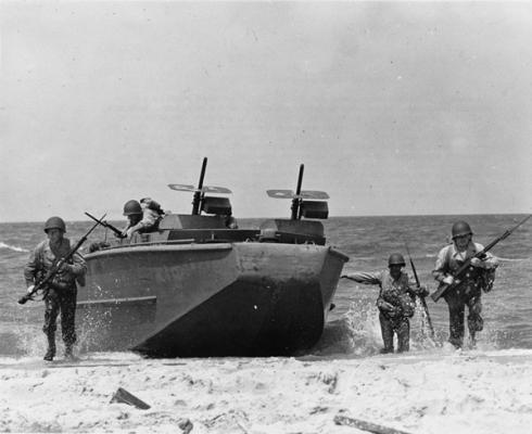 Landungsboote für den D-Day