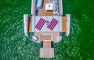 Schwimmender Transformer, nicht nur für die Bucht
