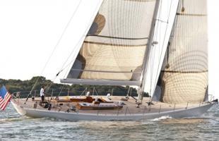 «Heroina» das Boot zum Mast und Kiel