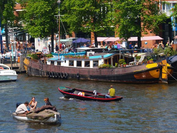 Wohnboot: Besser Chillen